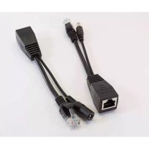 Пренос на IP сигнал и захранване по UTP/FTP кабел
